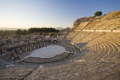 The ancient theatre of Ephesus, 2nd century B.C.