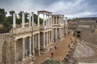 The Roman theatre of Merida, 1st century B.C